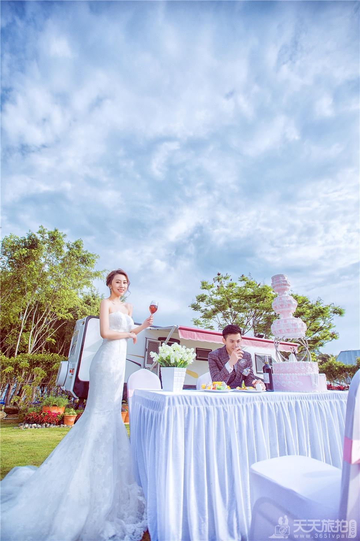 小清新婚纱摄影照片