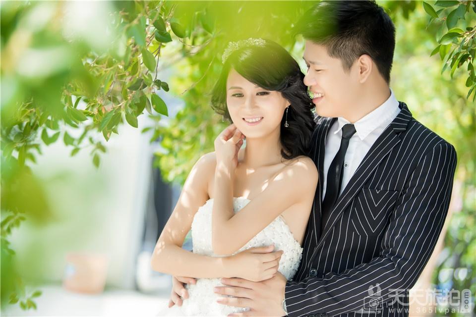 唯美韩式婚纱作品