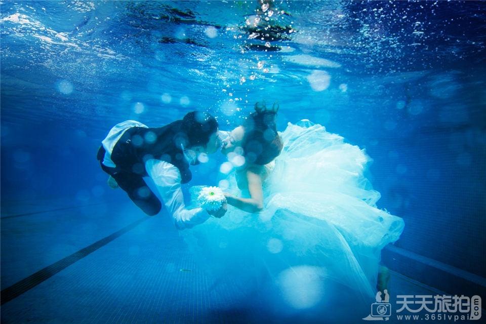 福建水下婚纱
