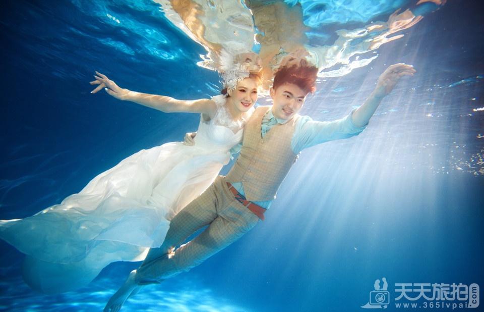水下婚纱欣赏