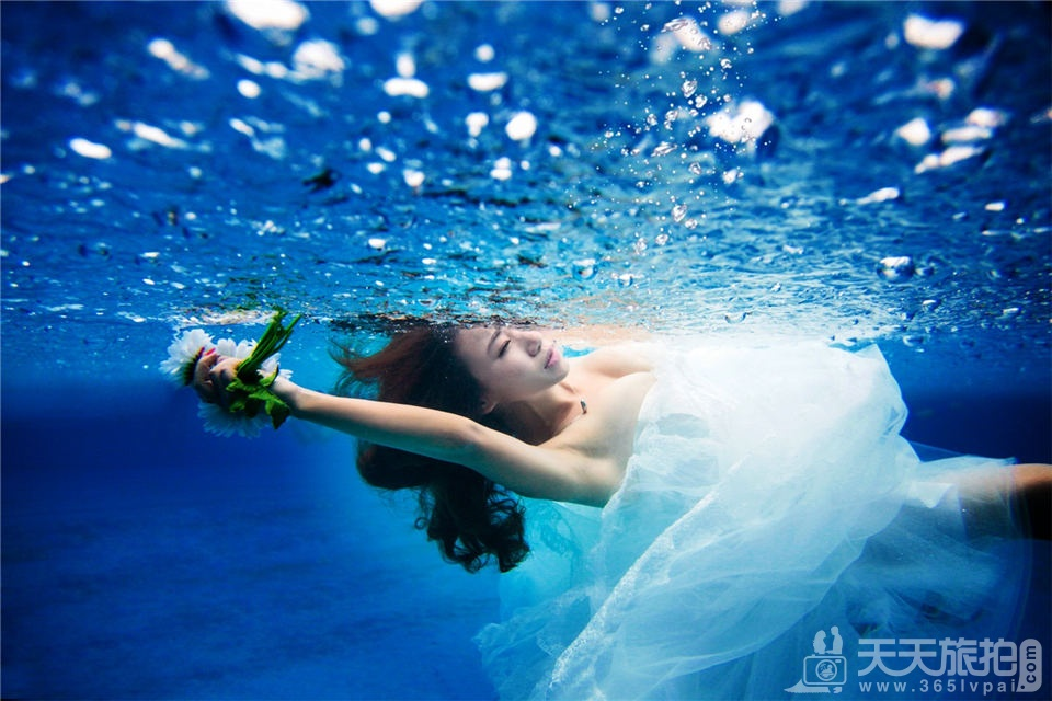 福建水下婚纱摄影