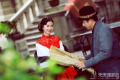 厦门民国风格复古婚纱照欣赏