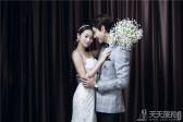 厦门韩式内景婚纱照欣赏
