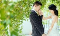 韩式清新风格婚纱照展示