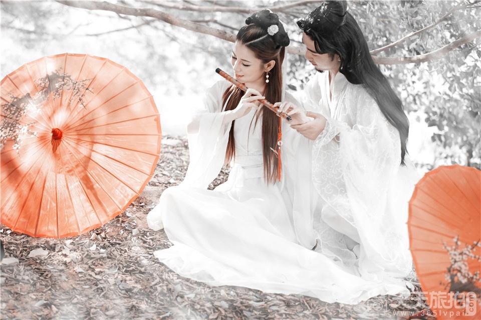 复古古装婚纱照欣赏