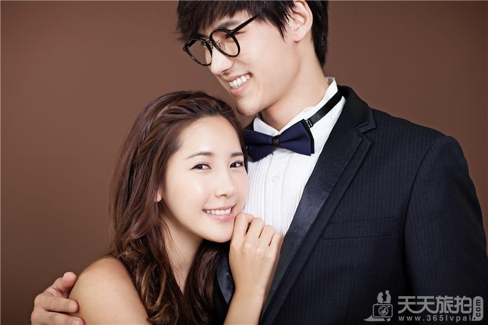 厦门内景韩式婚纱照