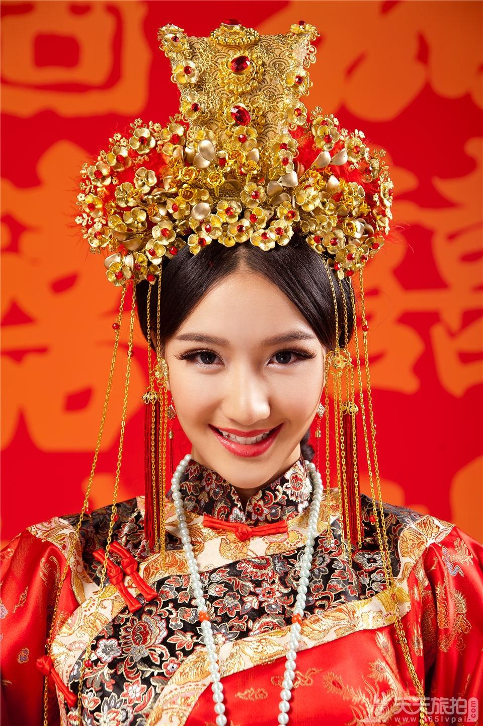 古代皇宫婚纱