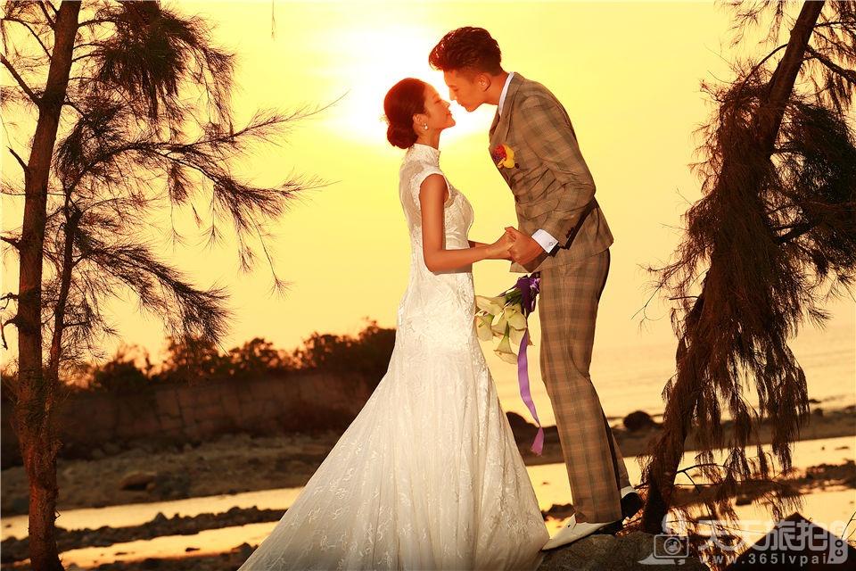海边唯美婚纱照欣赏