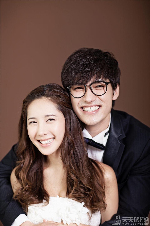 大气韩式婚纱照