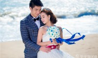 三亚海景婚纱照样片欣赏
