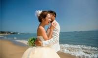 厦门环岛路海边婚纱摄影