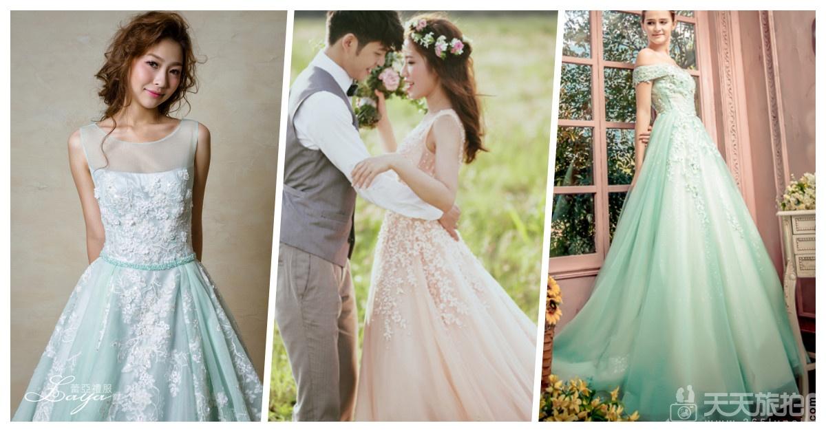 好想谈恋爱!让少女尖叫的22件浪漫冰沙色礼服【10】