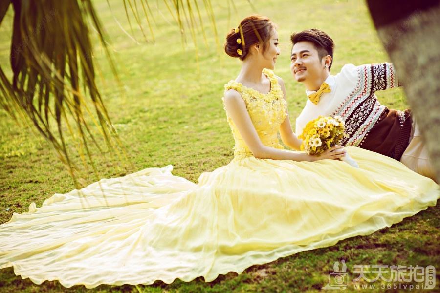 小清新婚纱照风格图片 小清新婚纱照怎么拍