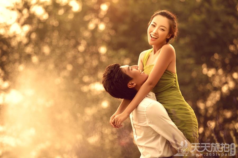 小清新婚纱照怎么拍 小清新婚纱照风格图片