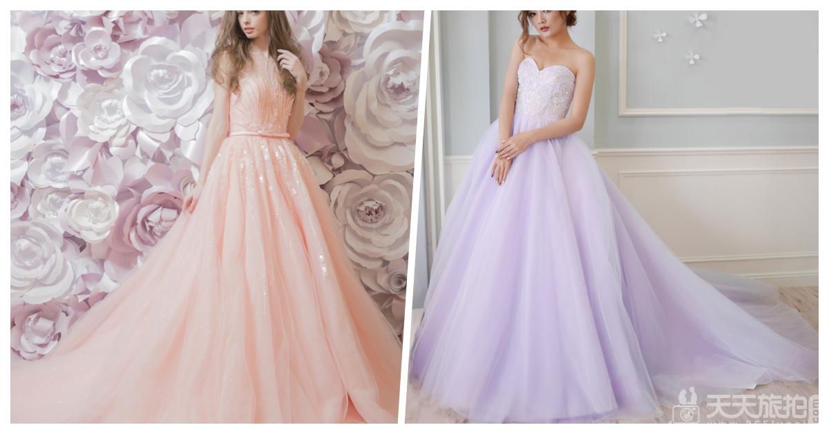 好想谈恋爱!让少女尖叫的22件浪漫冰沙色礼服【2】