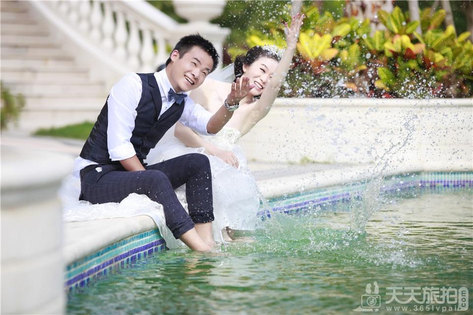 鼓浪屿唯美韩式婚纱照