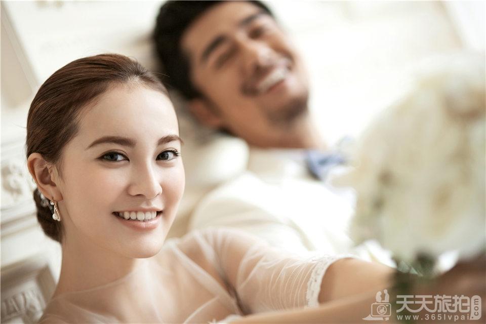 新韩式唯美婚纱摄影