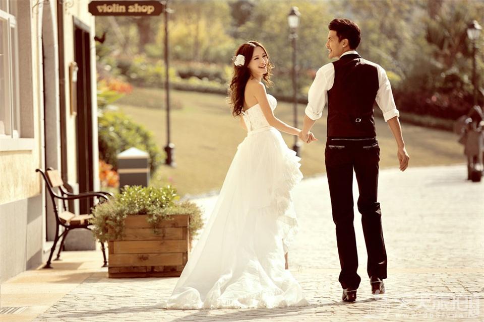 厦门韩式婚纱摄影作品
