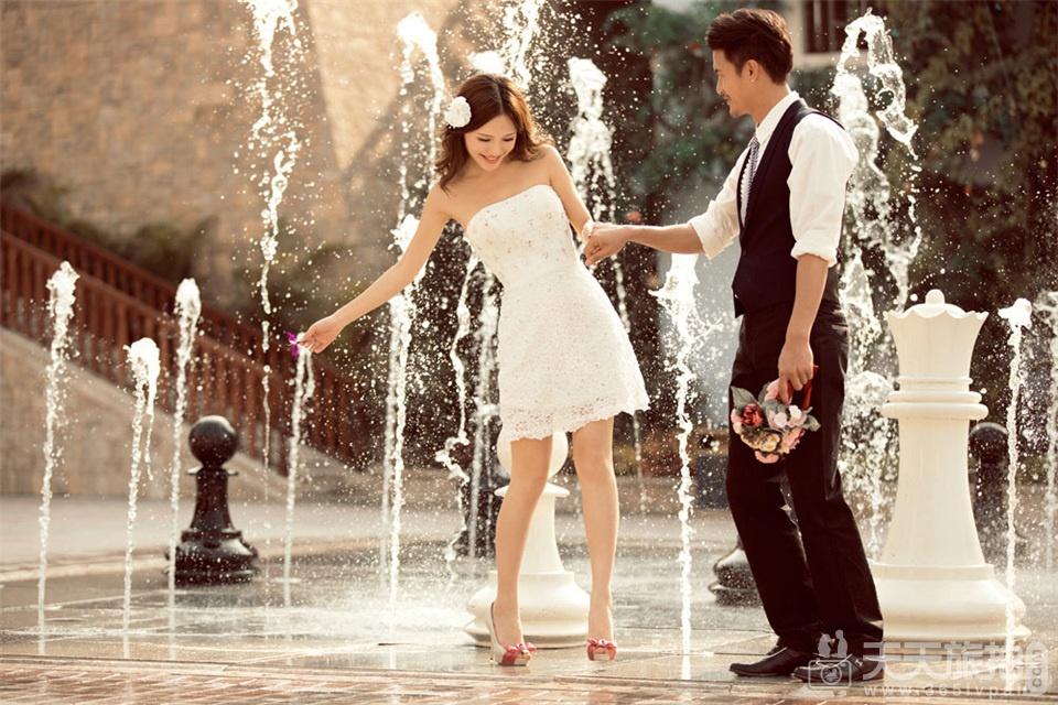 韩式婚纱照欣赏