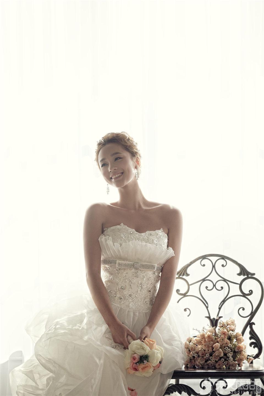 韩式唯美新娘婚纱照