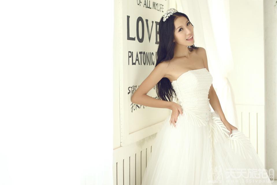 韩式内景婚纱欣赏