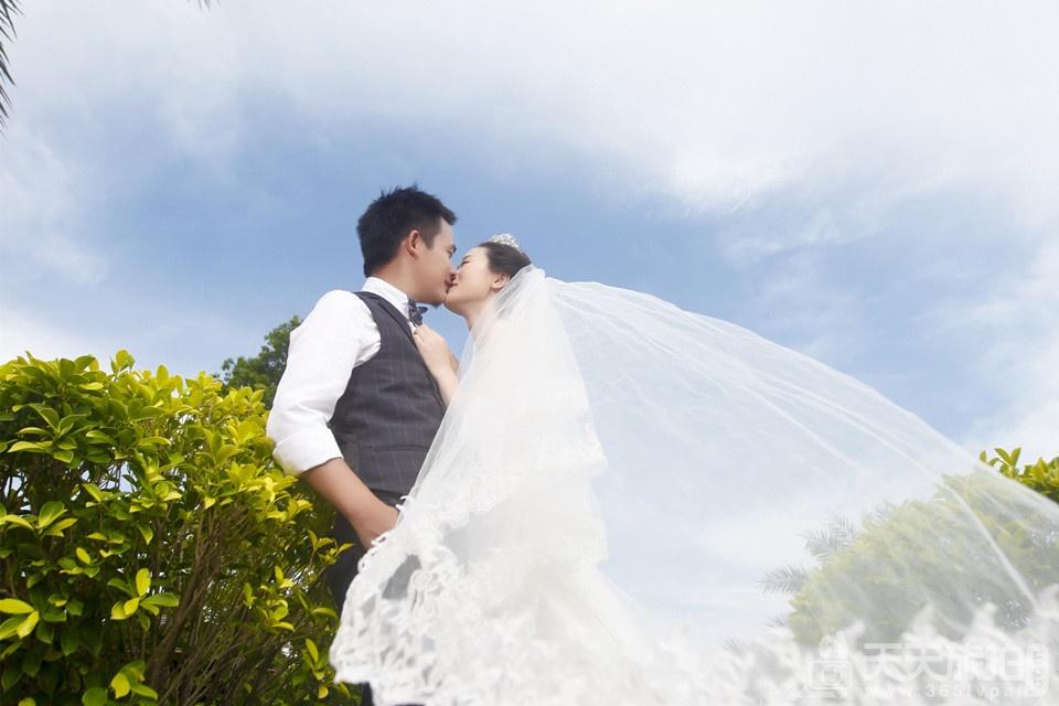 鼓浪屿韩式婚纱摄影照片