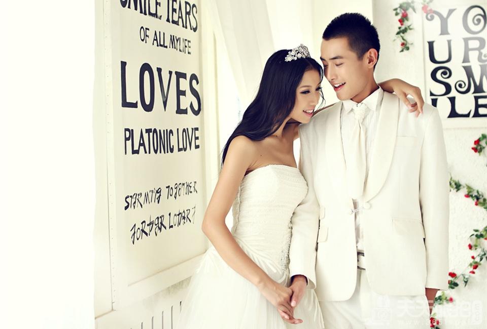 韩式实景婚纱拍摄