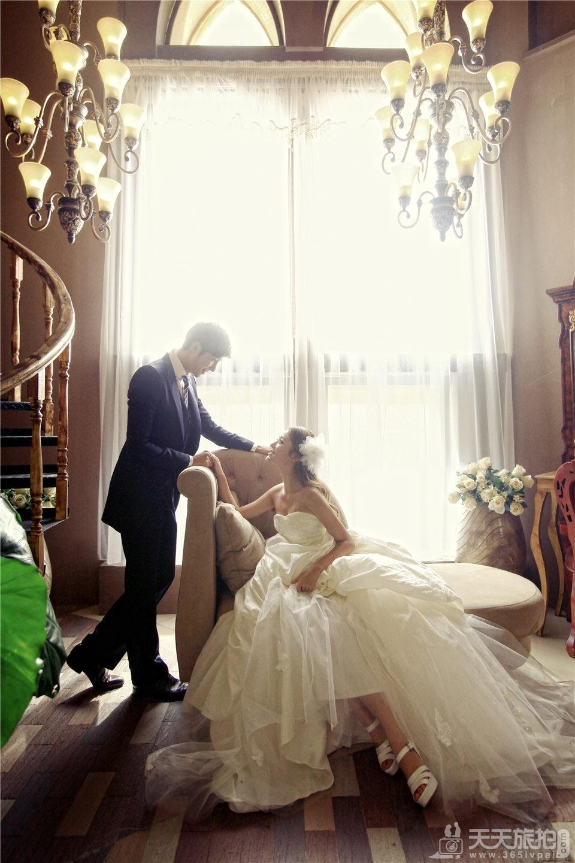 高端韩式复古婚纱照