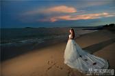 阴天海边婚纱照样片欣赏