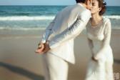 最新海边婚纱照