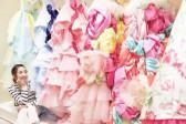 谁说婚纱一定要白色 超梦幻彩虹礼服让你跃升精灵系新娘