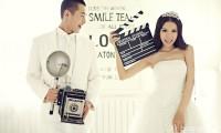 韩式内景婚纱摄影欣赏