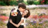 韩式小清新花海婚纱摄影外景婚纱照欣赏