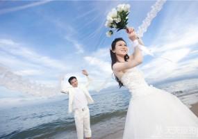 海边婚纱摄影的技巧