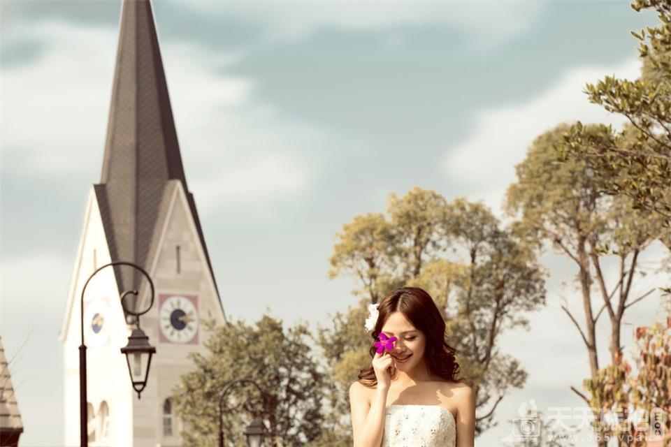 韩式小清新婚纱照欣赏