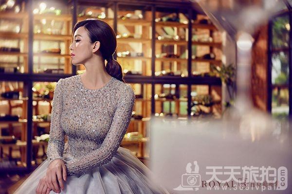 伴娘造型推荐分享 气质新娘不可错过的低马尾发型【1】