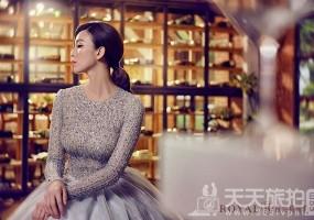 伴娘造型推荐分享 气质新娘不可错过的低马尾发型