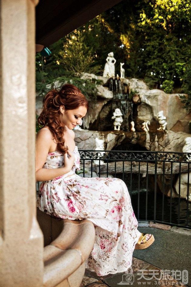 白马王子再等等吧!一个人拍也能很美丽的迪士尼婚纱摄影【2】