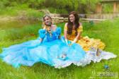 王子才能帮公主穿玻璃鞋?同性恋人迪士尼公主风婚纱照