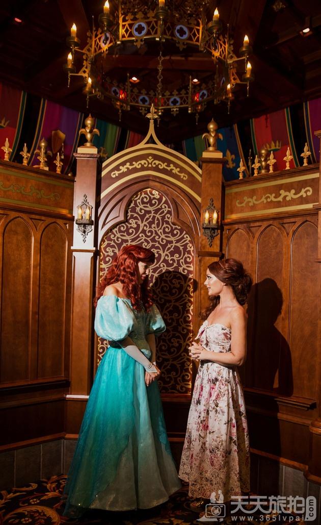 白马王子再等等吧!一个人拍也能很美丽的迪士尼婚纱摄影【4】