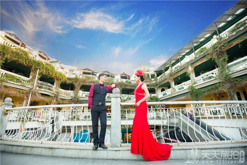 鼓浪屿旅行婚纱照