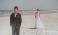 婚纱拍摄的人物间距