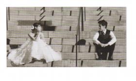 婚纱拍摄的人物间距(2)