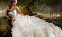 新人秘籍:魅力新娘影楼新娘妆与当日新娘妆大不同