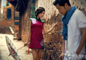 【复古婚纱照】拍摄前新娘如何选择一款适合自己的旗袍