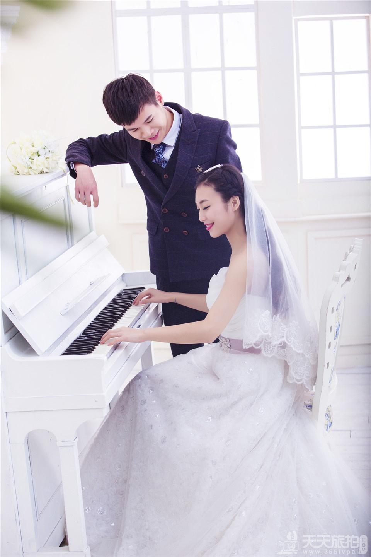 唯美韩式婚纱摄影