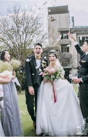 草原户外婚礼8个必备条件 明明在台湾省却像在国外