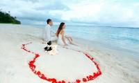 海洋与天堂的邂逅~ 马尔代夫满月岛婚纱摄影