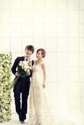 韩式唯美婚纱照图片 摄影棚内的独家记忆【1】