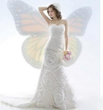 超唯美意境婚纱图片我的精彩因为有你存在【4】